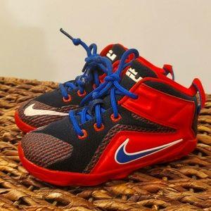 "Nike LeBron 12 GS ""Supes"" Rare toddler size 8c"